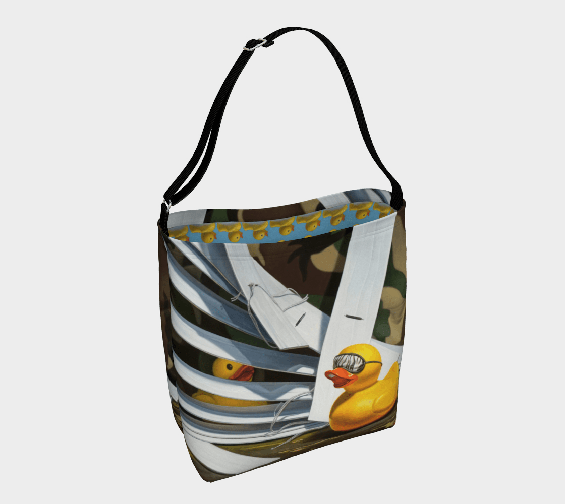 """""""Duck Blind"""" Day Tote"""