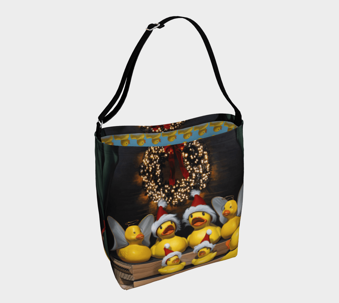 """""""Duck the Halls"""" Day Tote"""