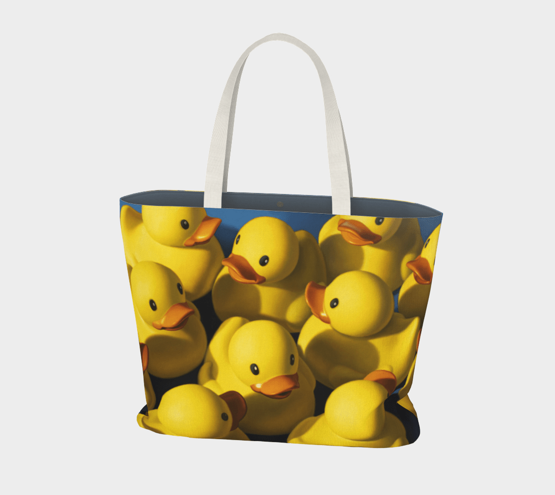 """""""Clusterduck"""" Large Tote"""