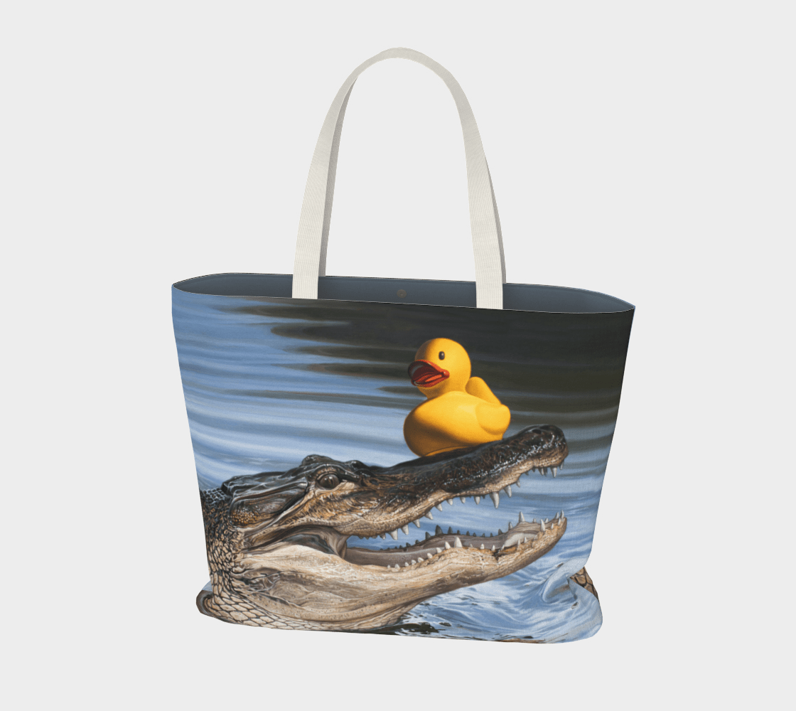 """""""Sitting Duck"""" Large Tote"""