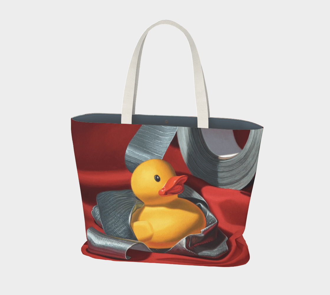"""""""Duck Tape"""" Large Tote"""