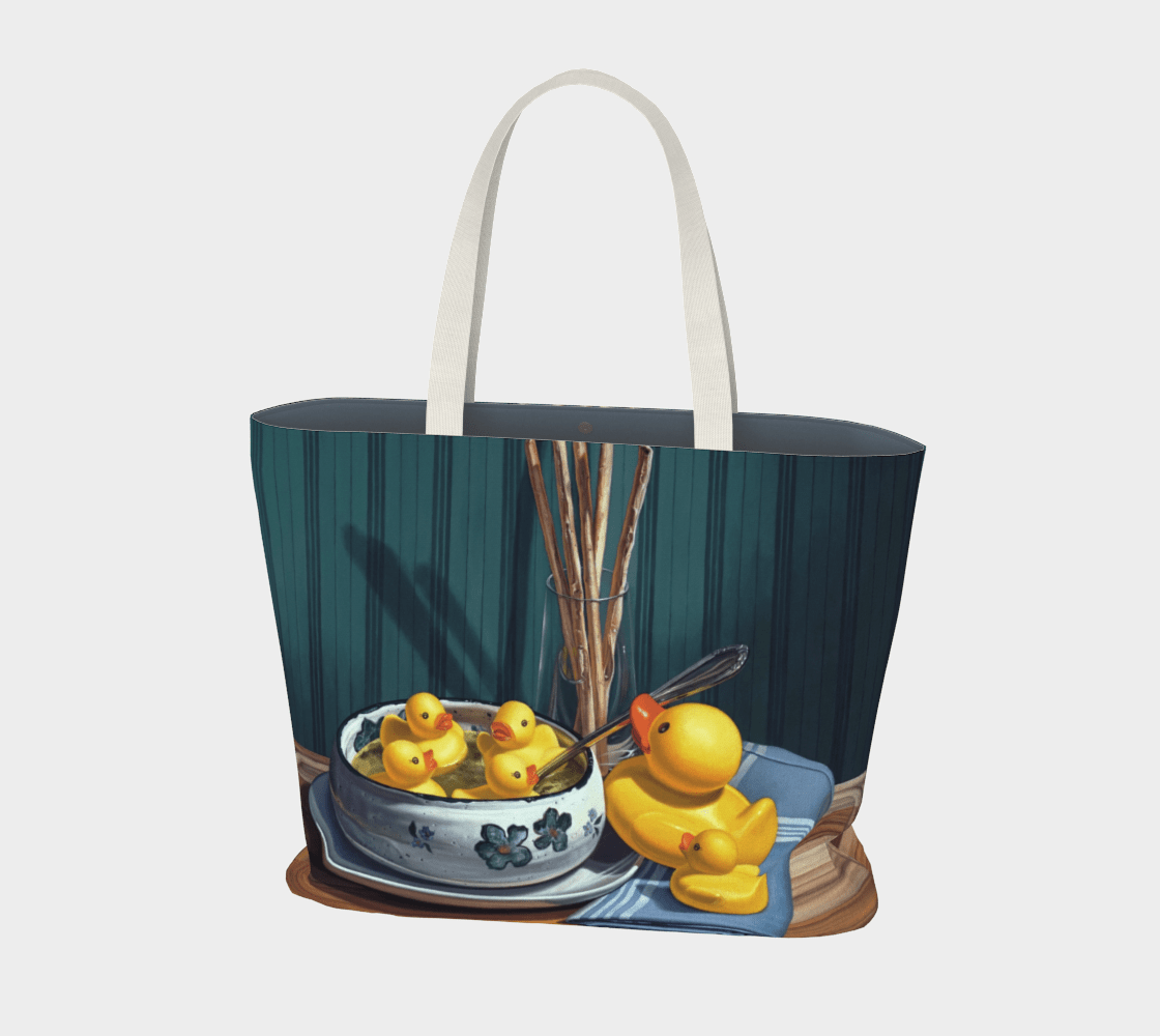 """""""Duck Soup"""" Large Tote"""