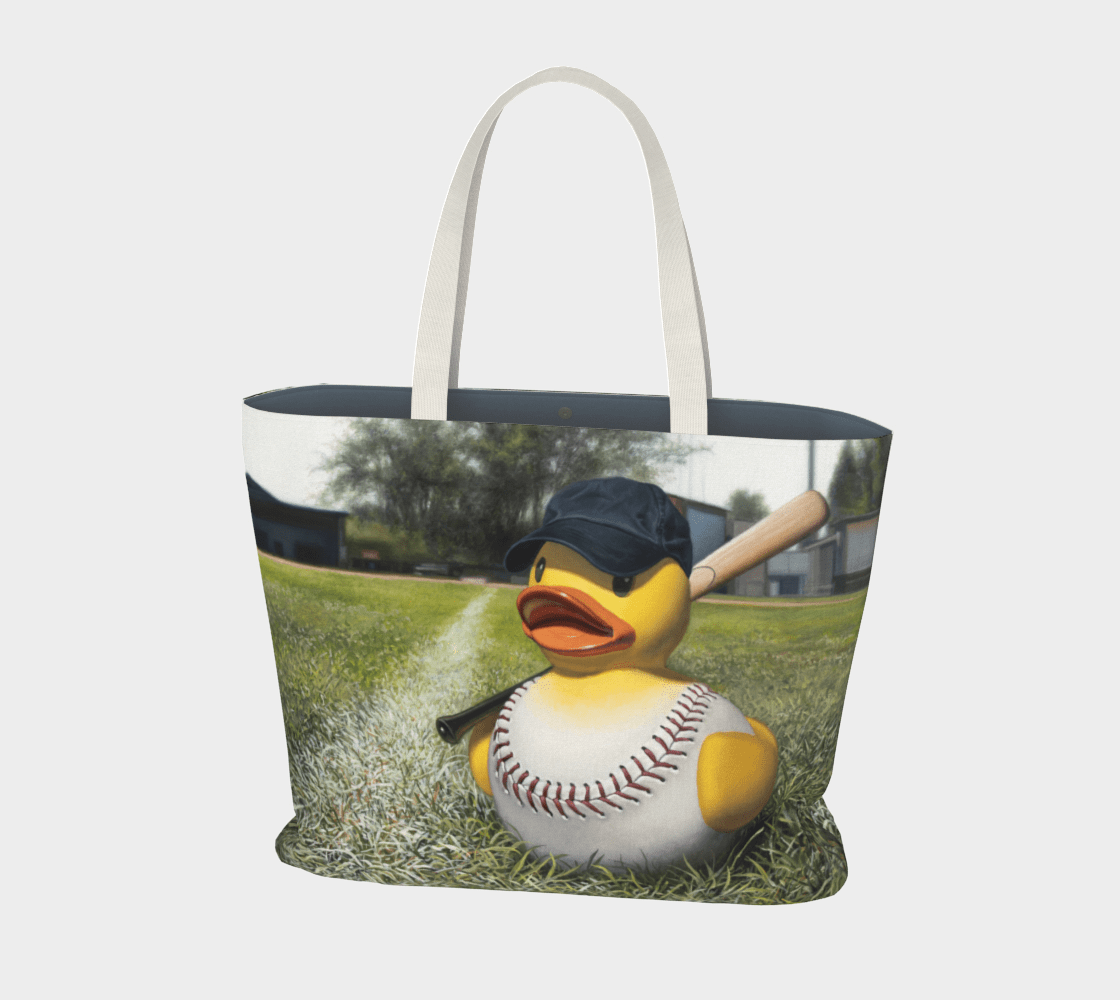 """""""Fowl Ball"""" Large Tote"""