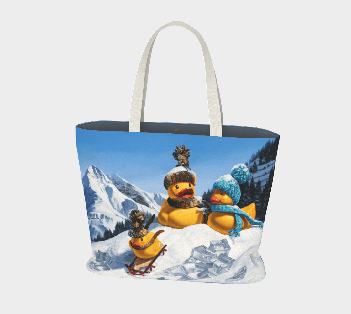 """""""Cold Duck"""" Large Tote"""