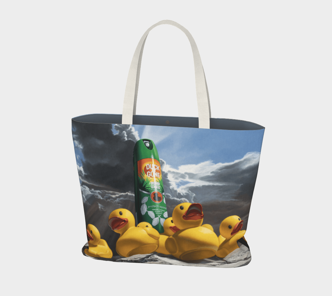 """""""Duck Off"""" Large Tote"""