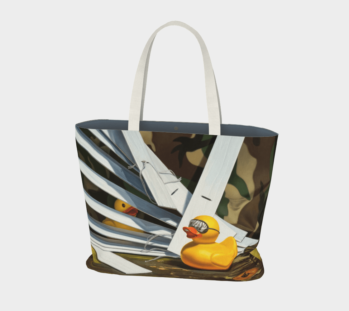 """""""Duck Blind"""" Large Tote"""