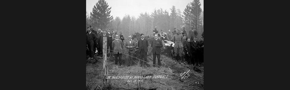 Burnquist at funerals tha45s