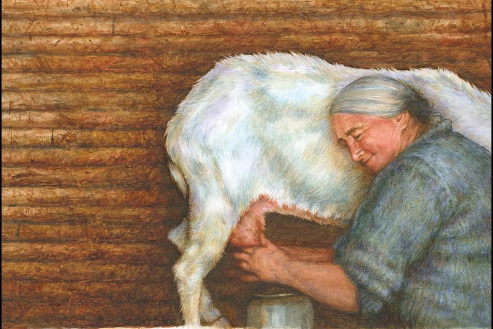 Goat lady 17x 24 final moymlv
