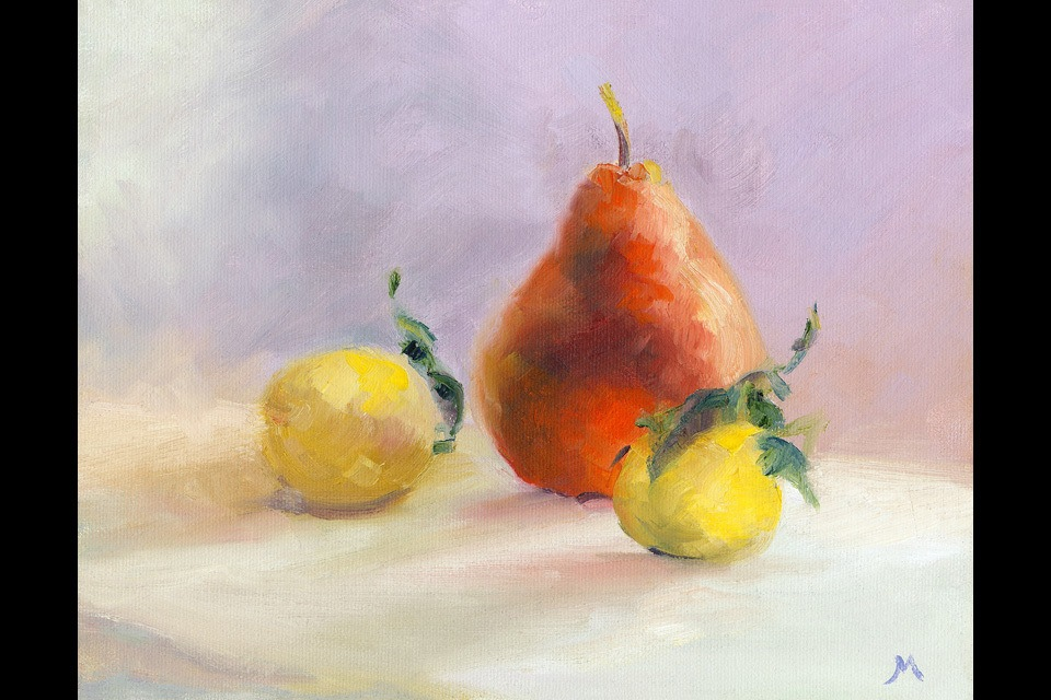 Pears and lemon quats 8 x 10 lp16uj