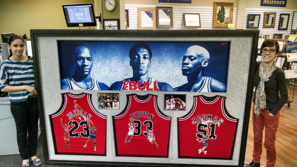How To Frame A Jersey >> Sports Framing