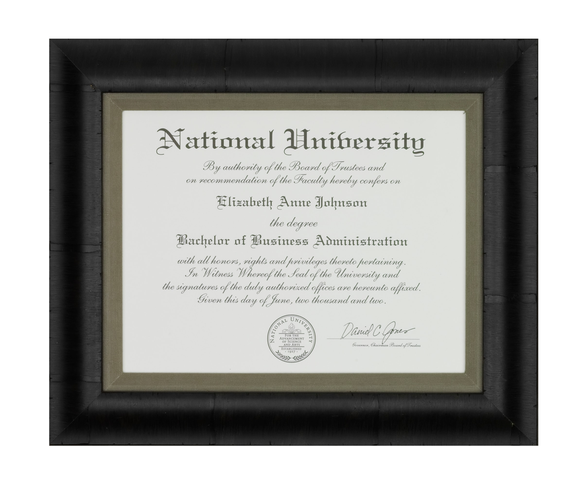 Flax 123964 national university diploma cghylv