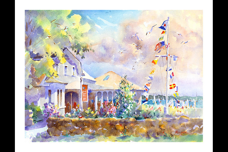 Beverly yacht club 5 x 7 fx5yfl