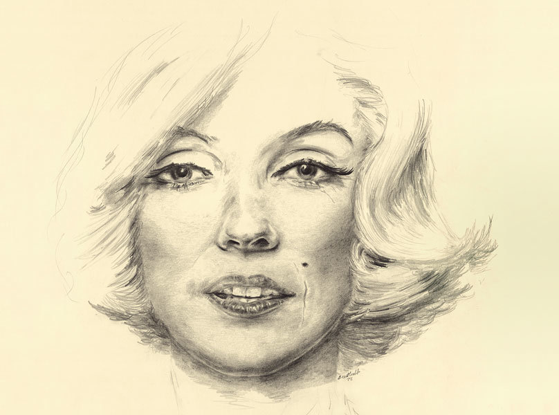Marilyn portrait h fkynnk
