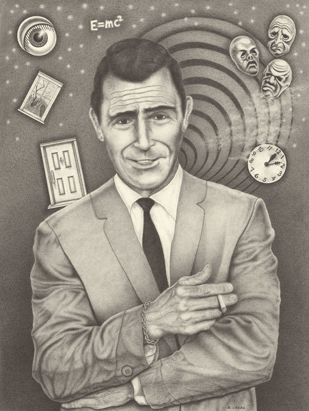 Rod serling a3dfyl