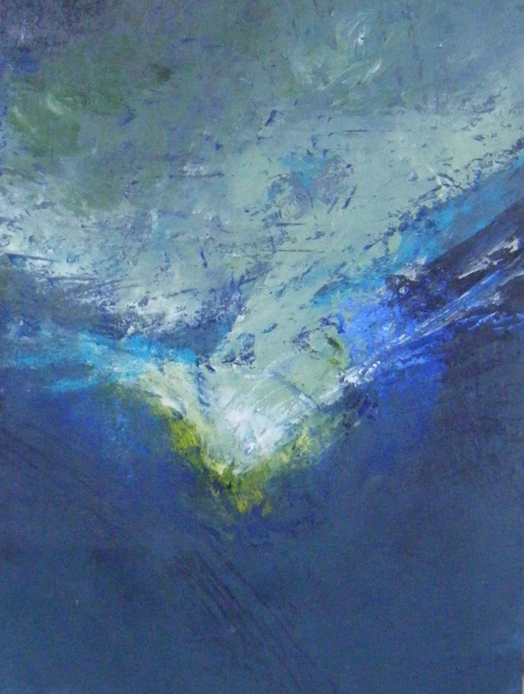 <div class='title'>           Abyss         </div>                 <div class='description'>           Abyss oil and cold wax oaiting on cradled panel         </div>