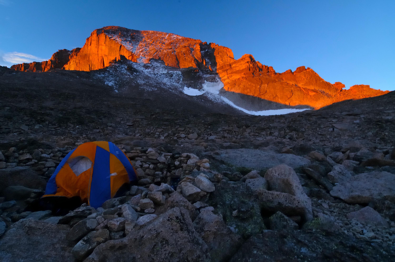 <div class='title'>           Sunrise-at-the-Boulderfield         </div>                 <div class='description'>           Longs Peak Sunrise         </div>