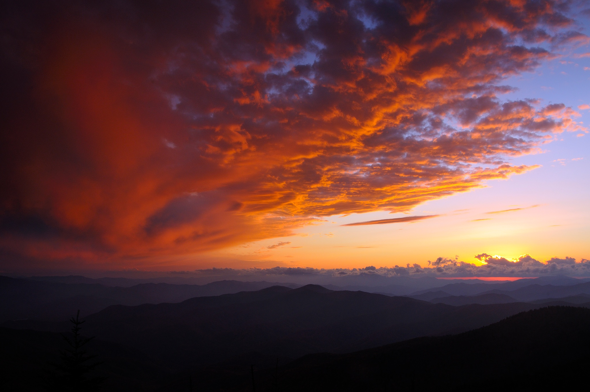 <div class='title'>           Sunset-at-Clingman-s-Dome         </div>                 <div class='description'>           Sunset at Clingmans Dome         </div>