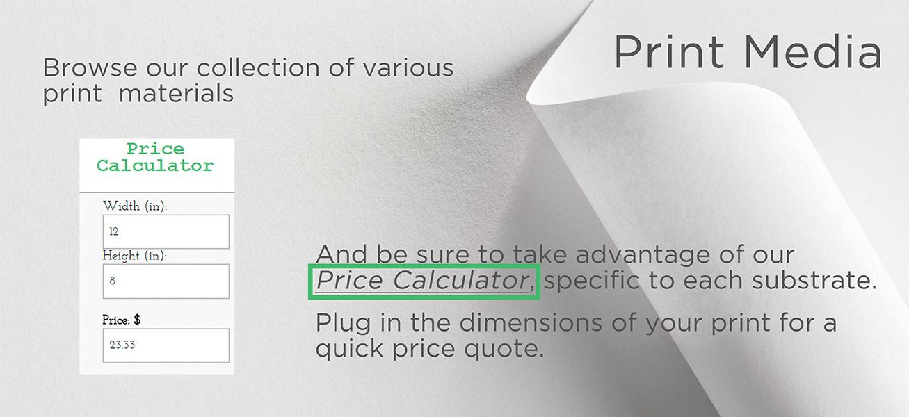 <div class='title'>           Print Media & Price Calculator         </div>                 <div class='description'>           Print Media & Price Calculator         </div>