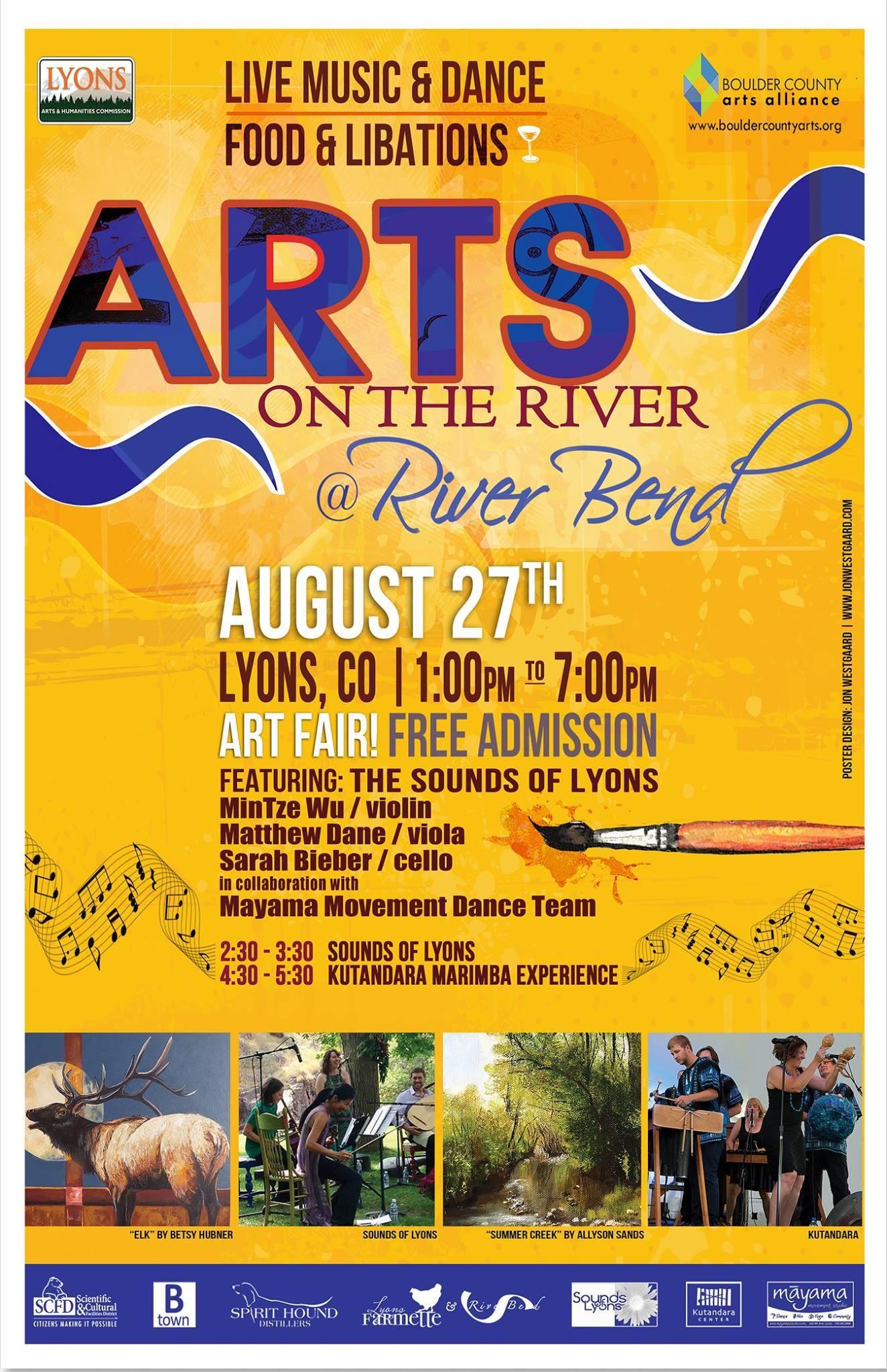 <div class='title'>           Art on the River 2017         </div>                 <div class='description'>           Arts on the River art festival         </div>