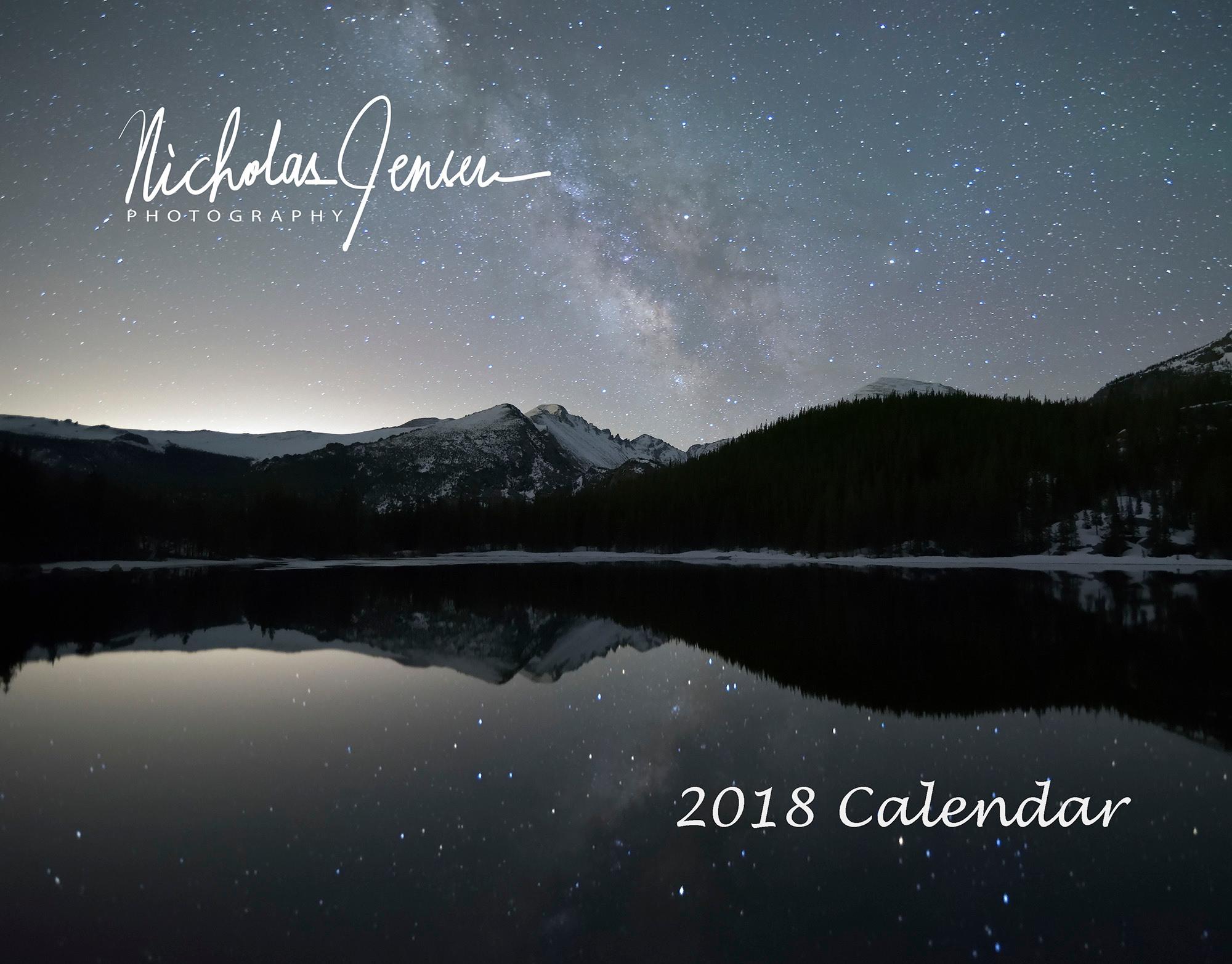 <div class='title'>           2018 Calendar         </div>                 <div class='description'>           A selection of Colorado & Utah images         </div>