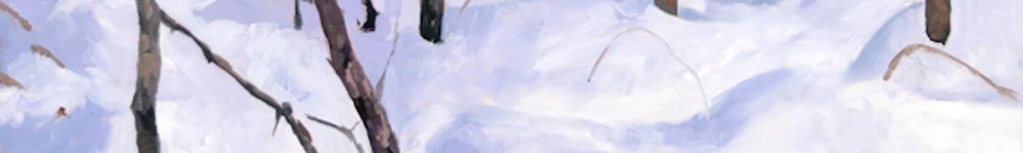 <div class='title'>           in hidden places original oil by Richard  Jacobson         </div>                 <div class='description'>           Beautiful large oil by Richard Jacobson, setting the winter spirit for SavvyArt Market         </div>