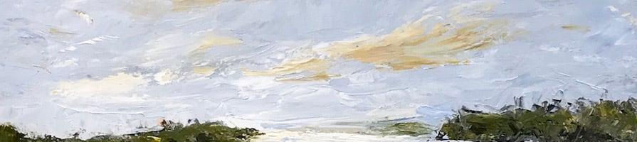 """<div class='title'>           Wall Between Us by Darlene Winfield         </div>                 <div class='description'>           Original oil painting by Darlene Winfield 40 x 40""""         </div>"""