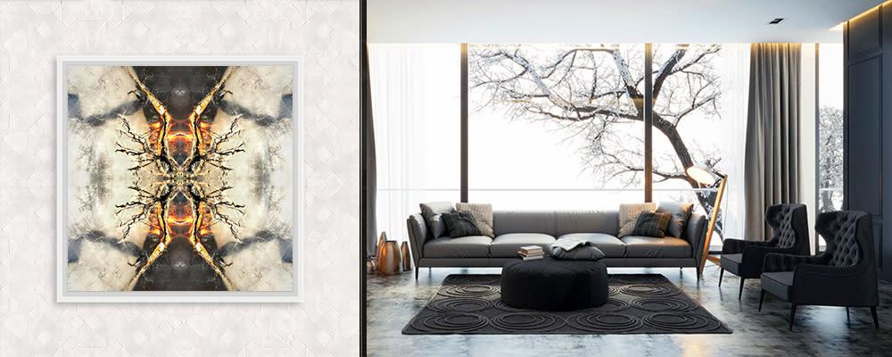 <div class='title'>           Living Room w Tree   Petrified Wood | Mind Meld         </div>