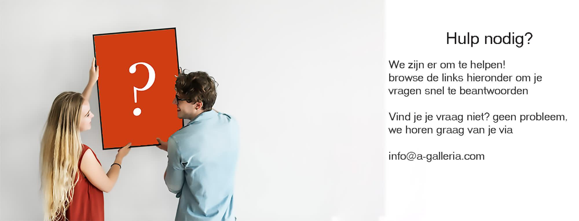 <div class='title'>           A Galleria FAQ   Vaak gestelde vragen         </div>