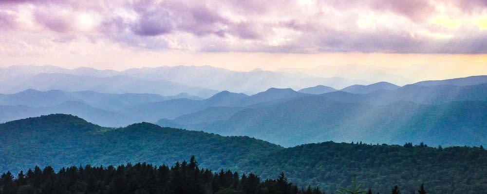 <div class='title'>           Blue Ridge Parkway - Landscape Art         </div>                 <div class='description'>           Blue Ridge Parkway Landscape         </div>