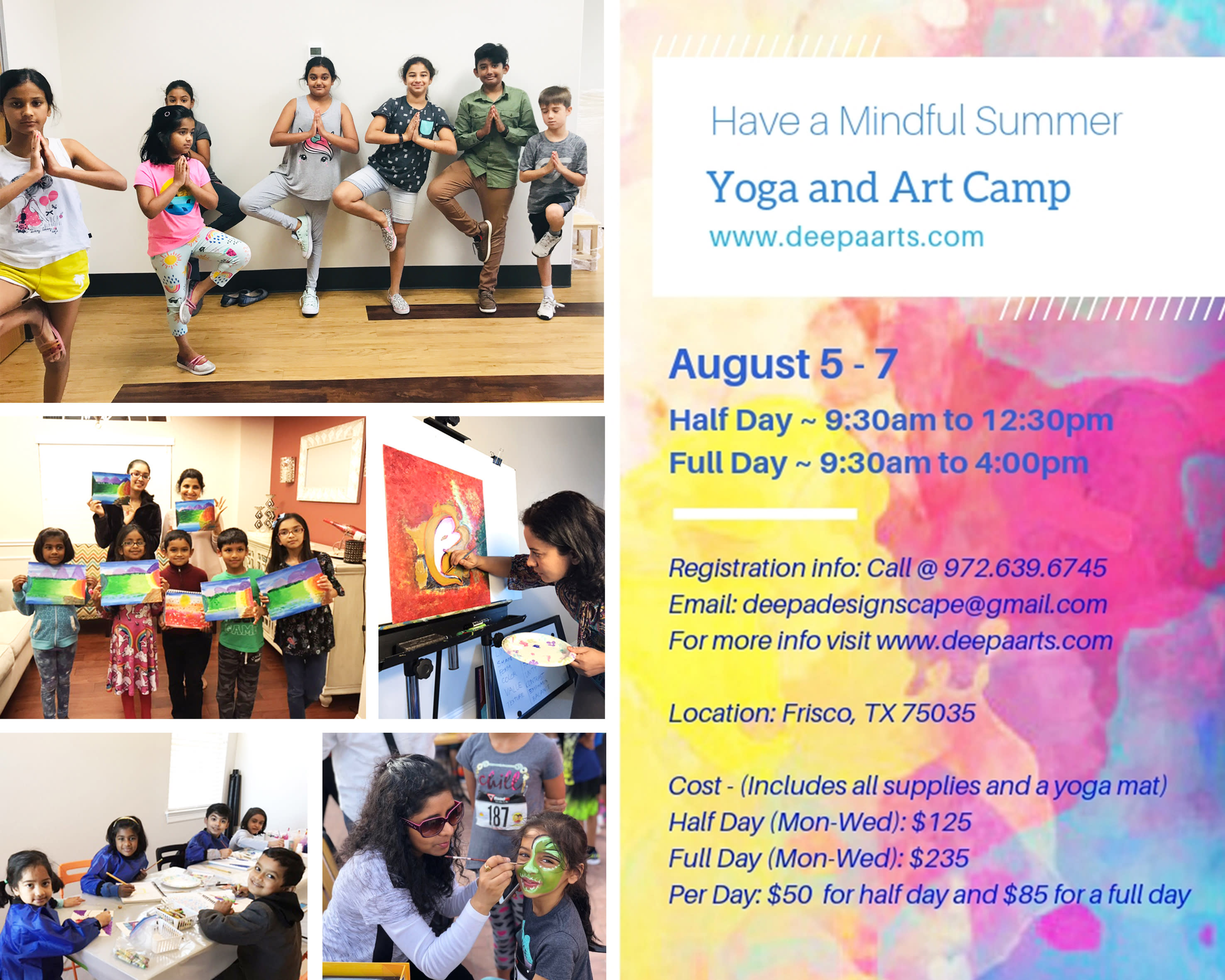 <div class='title'>           2019   Summer Camp   yoga and art         </div>