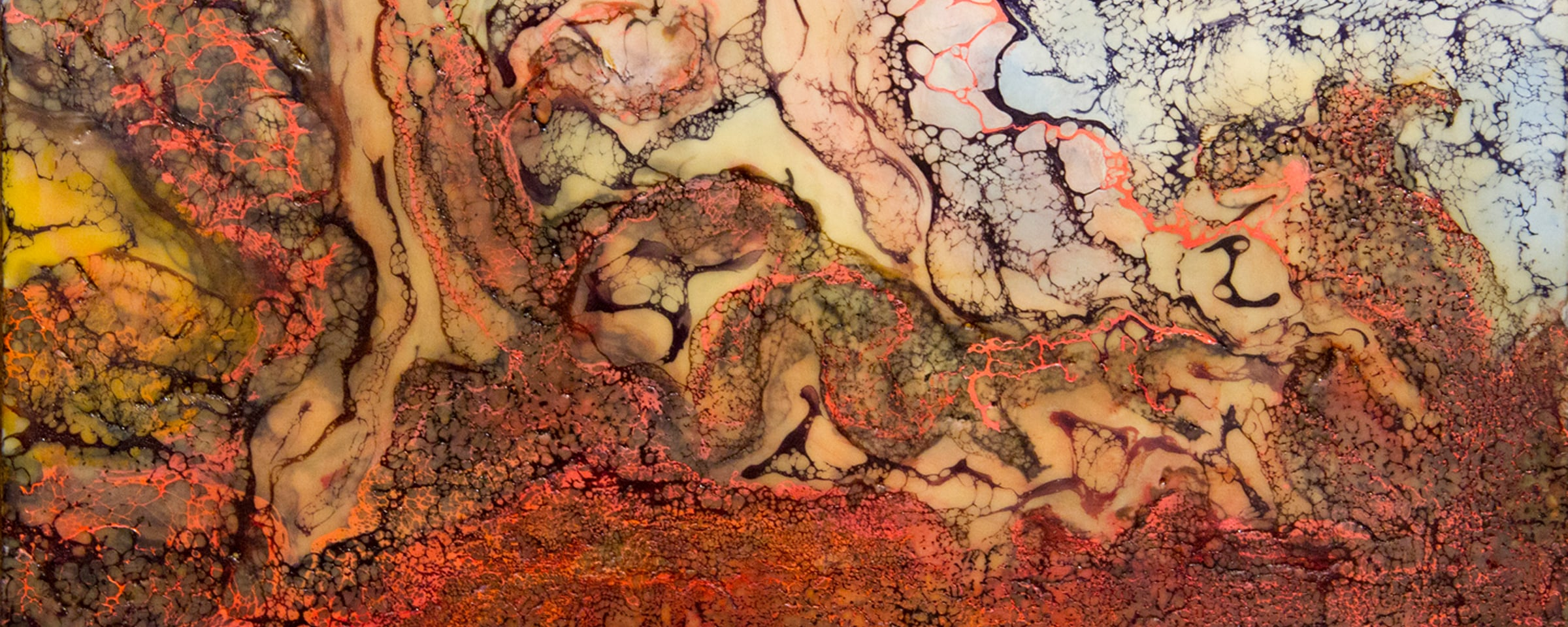 <div class='title'>           Untitled Encaustic Shellac Burn web         </div>