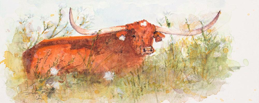 <div class='title'>           Goody Two Shoes         </div>                 <div class='description'>           Texas Longhorns from the Shoemacher Ranch         </div>
