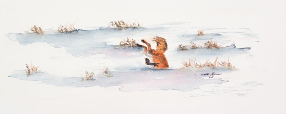 <div class='title'>           Diving          </div>                 <div class='description'>           foxes playing         </div>
