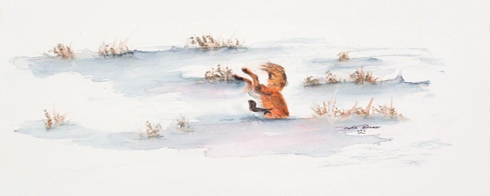 <div class='title'>           Diving          </div>                 <div class='description'>           foxes playing         </div>