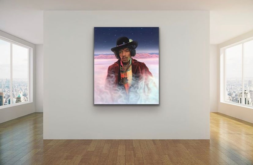 <div class='title'>           Jimi Hendrix by Gary Savage         </div>