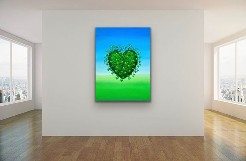 <div class='title'>           Large Heart by Gary Savage         </div>