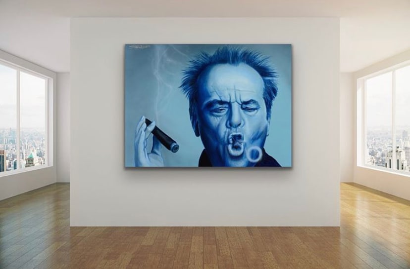 <div class='title'>           Jack Nicholson by Gary Savage         </div>