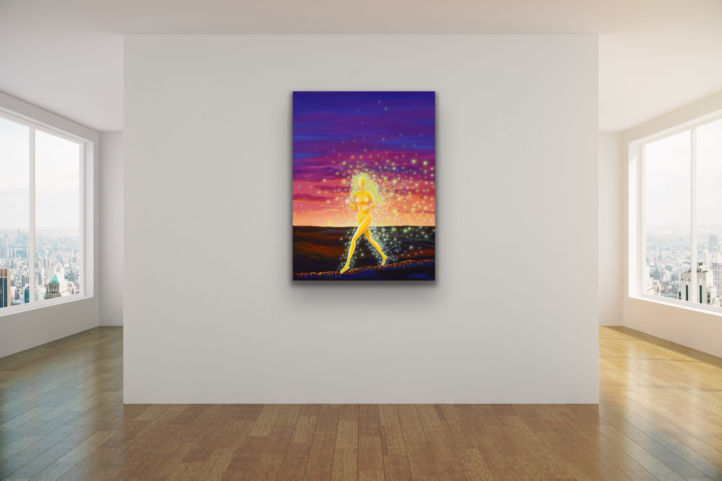 <div class='title'>           Goddess on her Path by Gary Savage         </div>