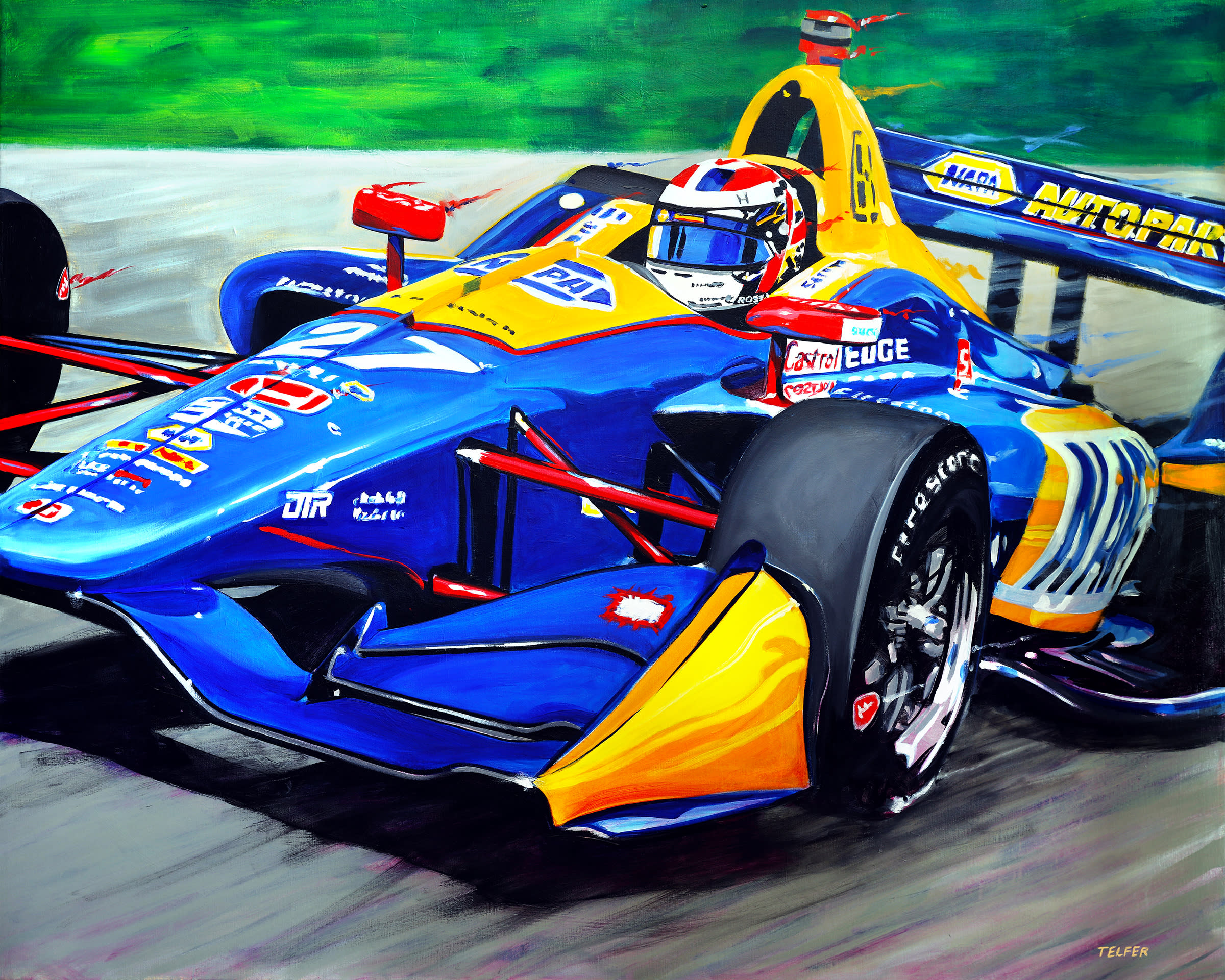 <div class='title'>           Rossi Indy Car  AFS sm         </div>