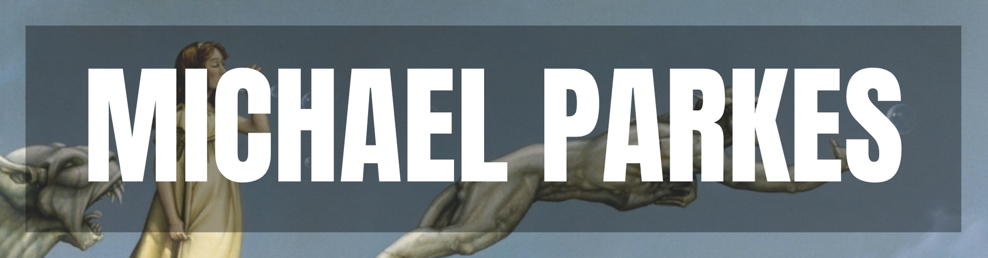 <div class='title'>           Michael Parkes Name Tag Individual         </div>