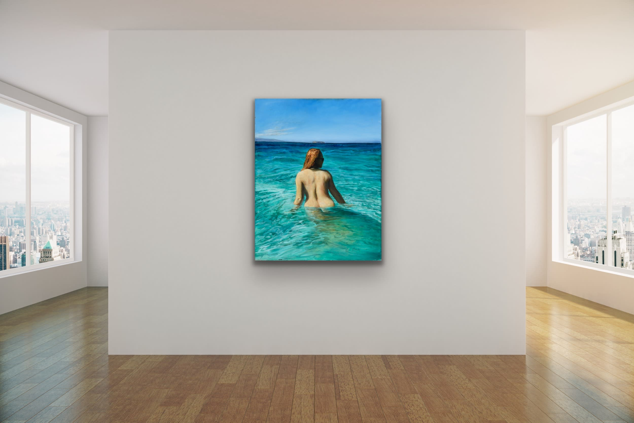 <div class='title'>           Brandon Kralik   Fine Art Mock Ups Room Gallery Wall Contemporary Portrait Seascape 6         </div>