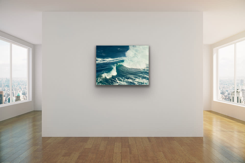 <div class='title'>           Peahi I wall   Kelly Hsiao   Sea Alchemy   Evo Art Maui Front St Lahaina Gallery Hawaii Ocean Wave Jaws Photography Metal         </div>