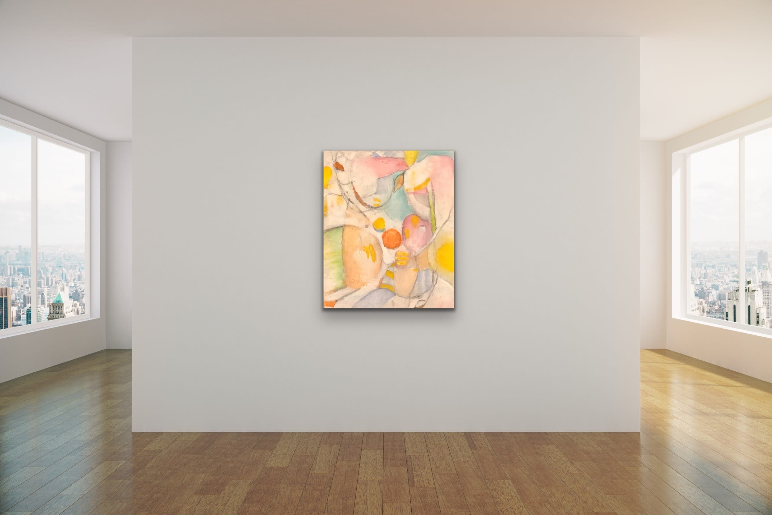 <div class='title'>           Spencer Eldridge   Evo Art Maui Abstract Colors Shapes Soft Light Pretty Airy Decorative 1         </div>