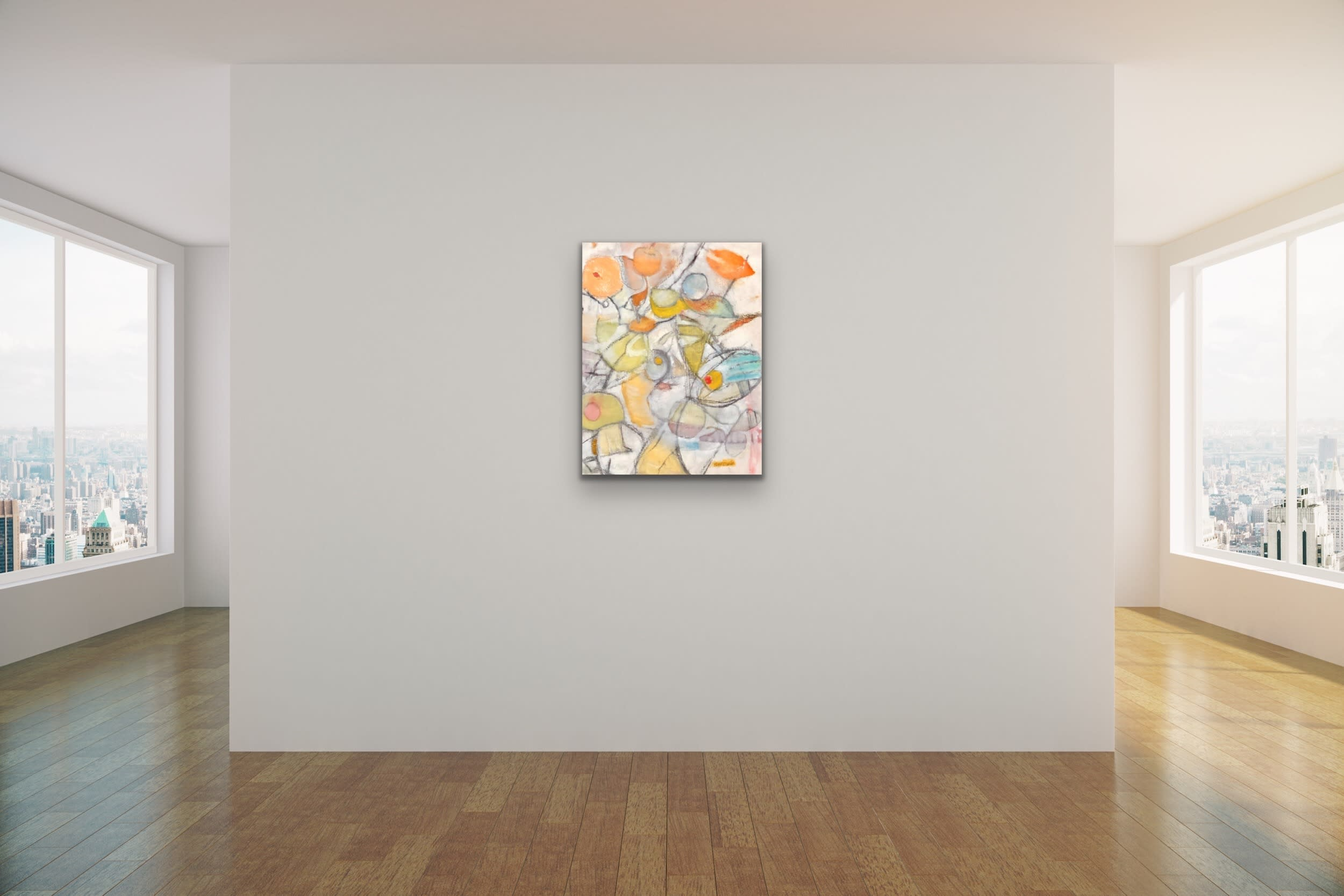 <div class='title'>           Spencer Eldridge   Evo Art Maui Abstract Colors Shapes Soft Light Pretty Airy Decorative 10         </div>