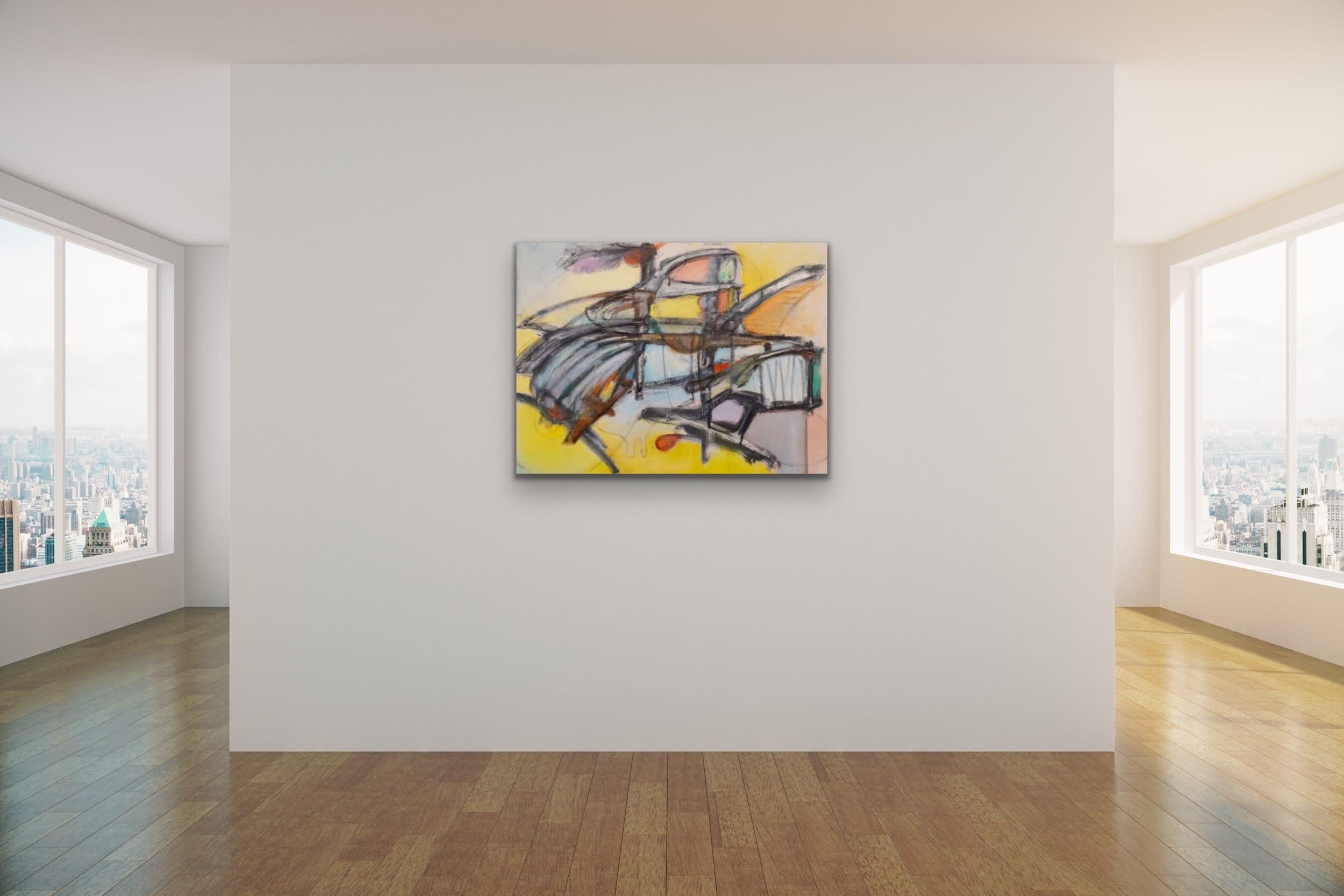 <div class='title'>           Spencer Eldridge   Evo Art Maui Abstract Colors Shapes Soft Light Pretty Airy Decorative 9         </div>
