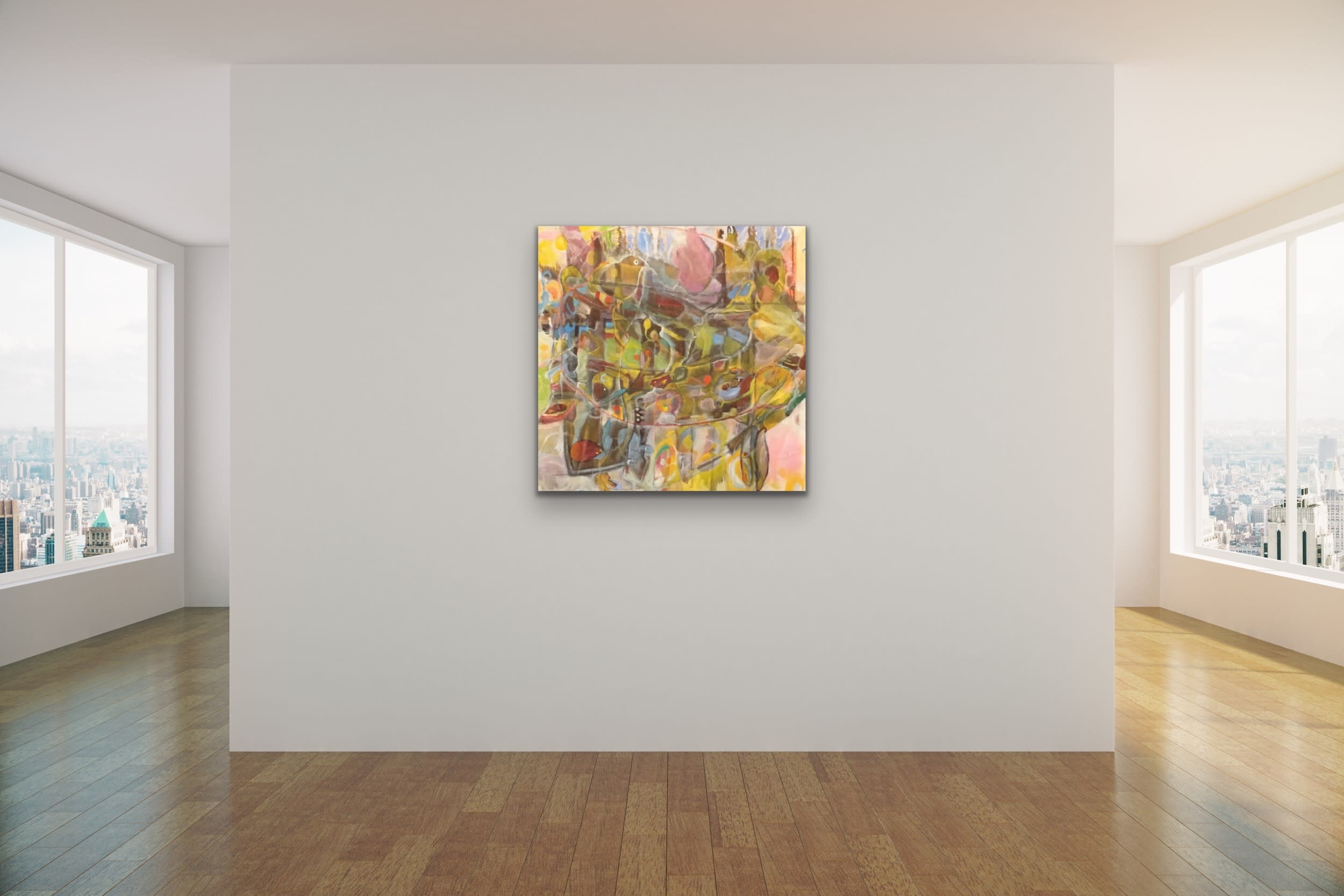 <div class='title'>           Spencer Eldridge   Evo Art Maui Abstract Colors Shapes Soft Light Pretty Airy Decorative 2         </div>