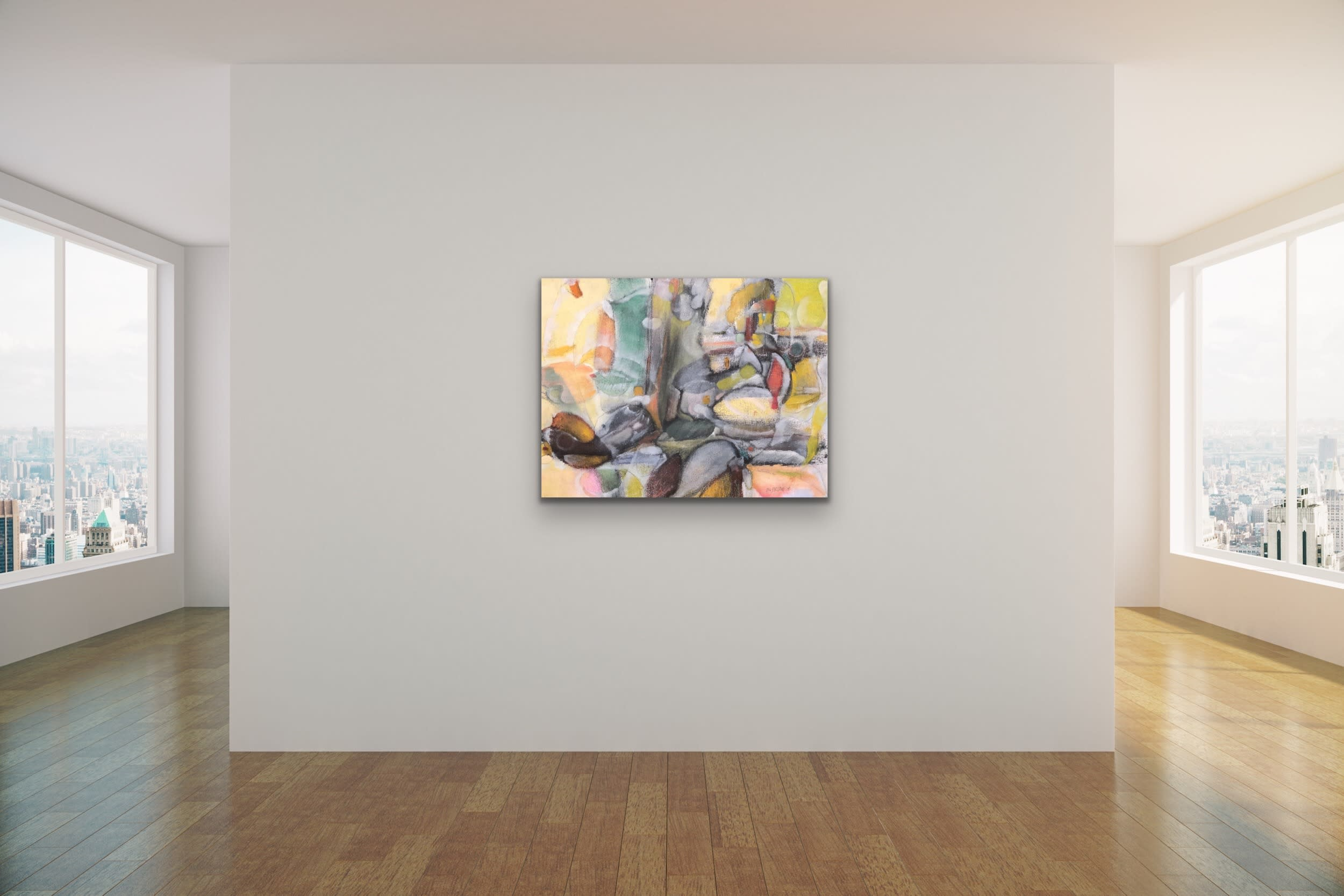 <div class='title'>           Spencer Eldridge   Evo Art Maui Abstract Colors Shapes Soft Light Pretty Airy Decorative 23         </div>