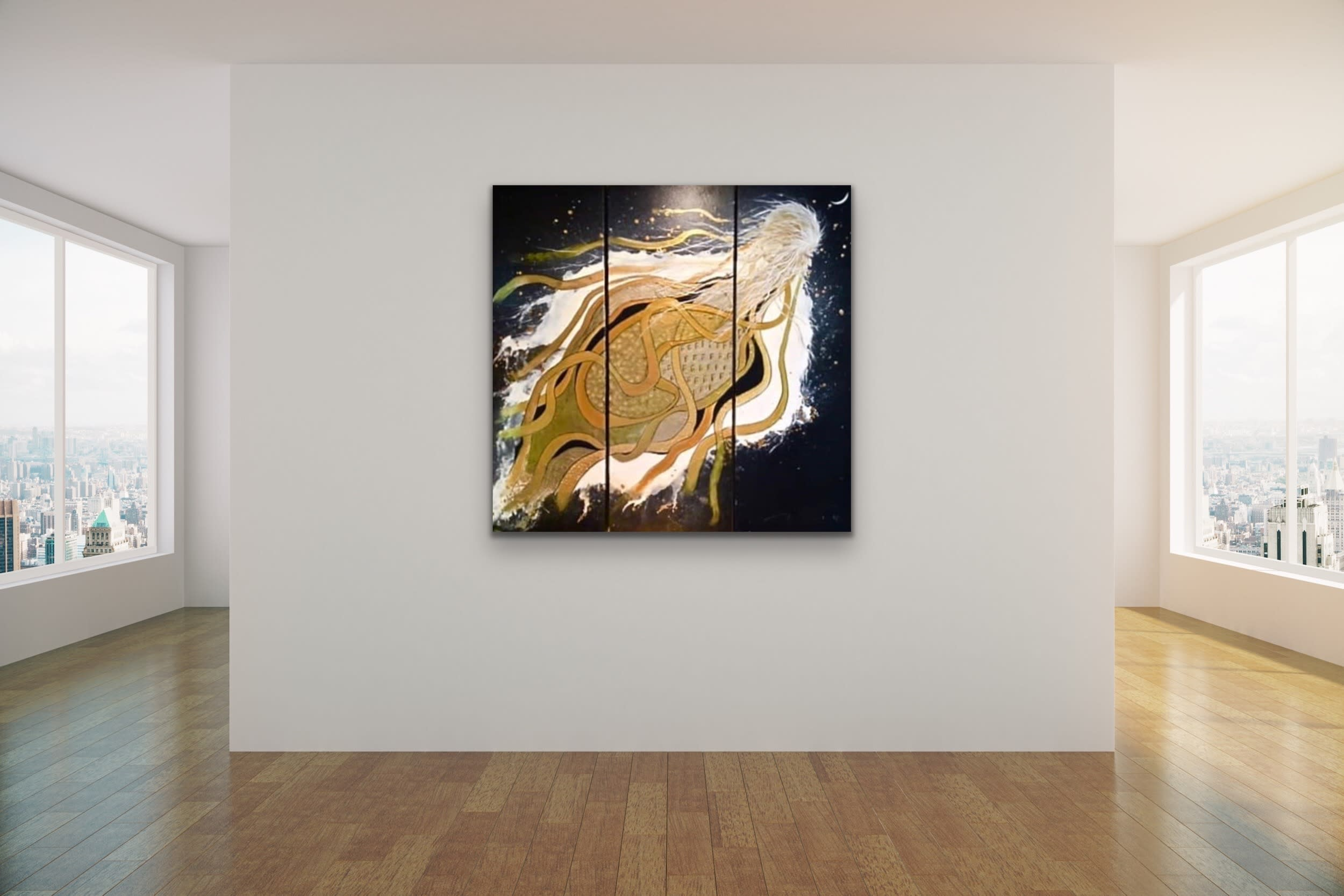 <div class='title'>           Robert Romeo Tomei Mock Up Gallery Wall Art Rooms Preview Clean Abstract Evo Art Lahaina Maui Front Street 14         </div>