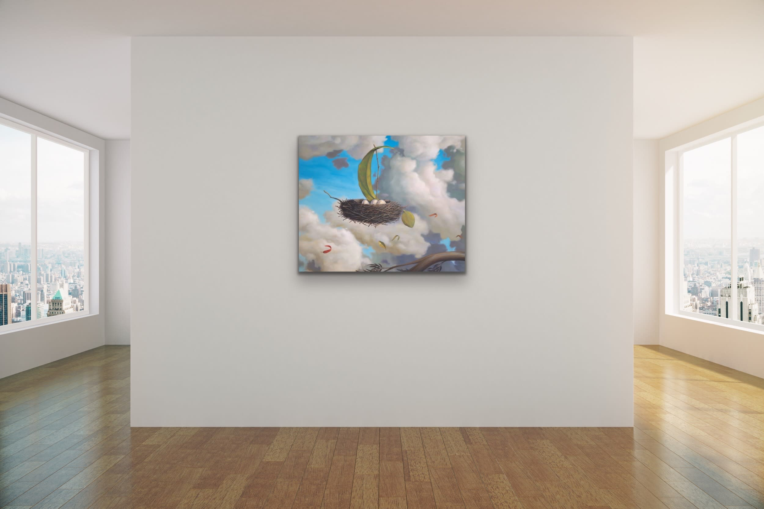 <div class='title'>           Paul Bond Magical Realism Poetry Serene Landscape Animals Nature Surreal Metaphorical Whimsical Fantasy Evo Art Maui Lahaina Front Street Art Gallery 6         </div>