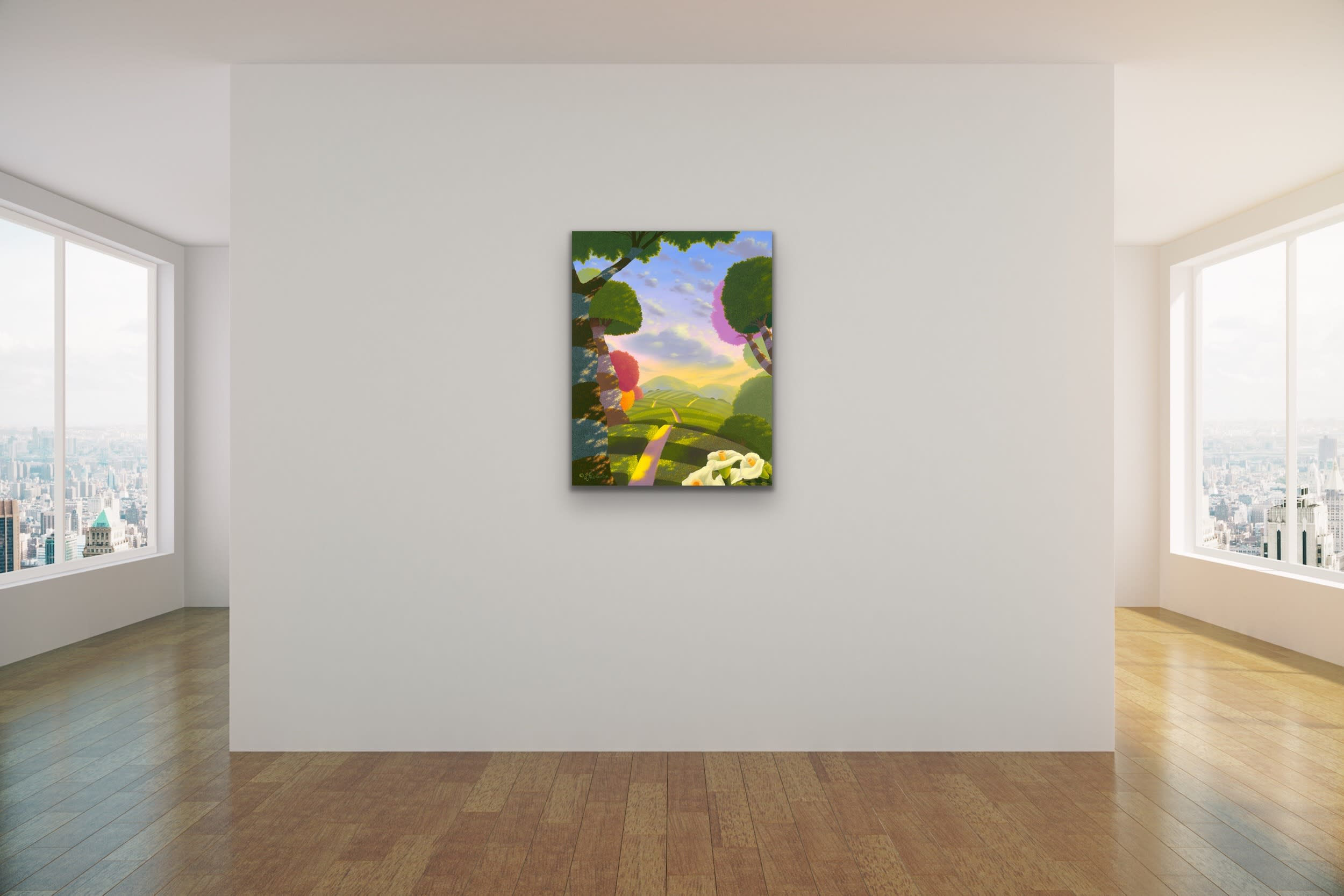 <div class='title'>           Michael Provenza   Evo Art Maui Mock Ups Pointilism Dots Tiny Detail Surreal Dreamscapes Disney Popular Lahaina Front Street Hawaii 1         </div>